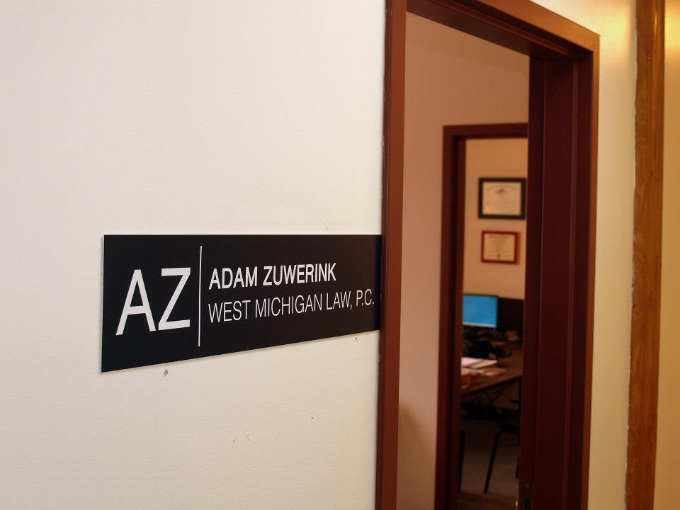 Muskegon and Holland / Zeeland Law Office for Attorney Adam